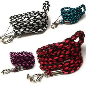 SpiriuS-Lanyard-Neck-Strap-Braided-for-ID-badge-holder-with-metal-clip-alt