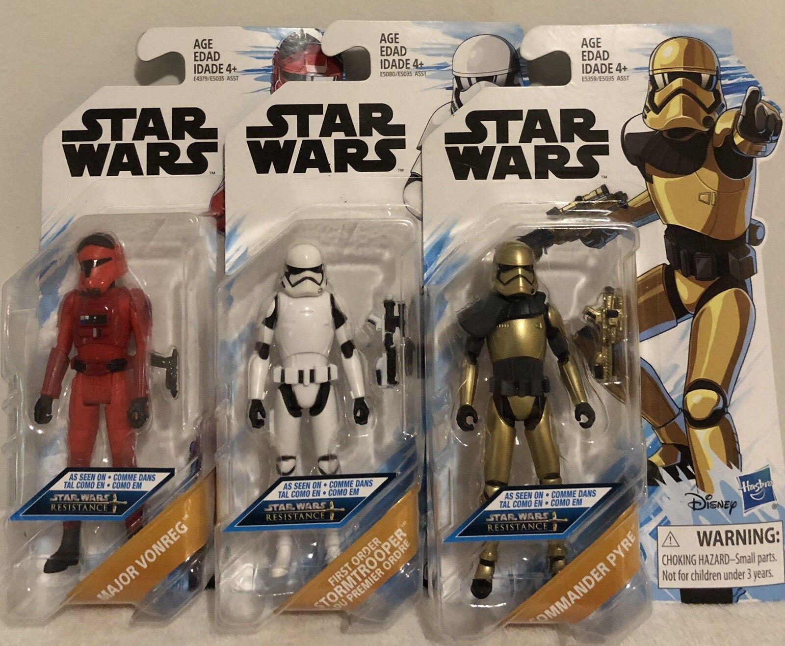 Star Wars Resistance Action Figures