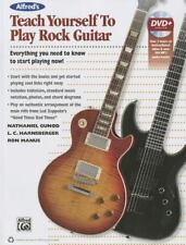 Alfred's Teach Yourself Rock Guitar: Everything You Need to Know to Start Playin