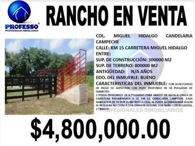 Finca/Rancho en Venta en Miguel Hidalgo y Costilla