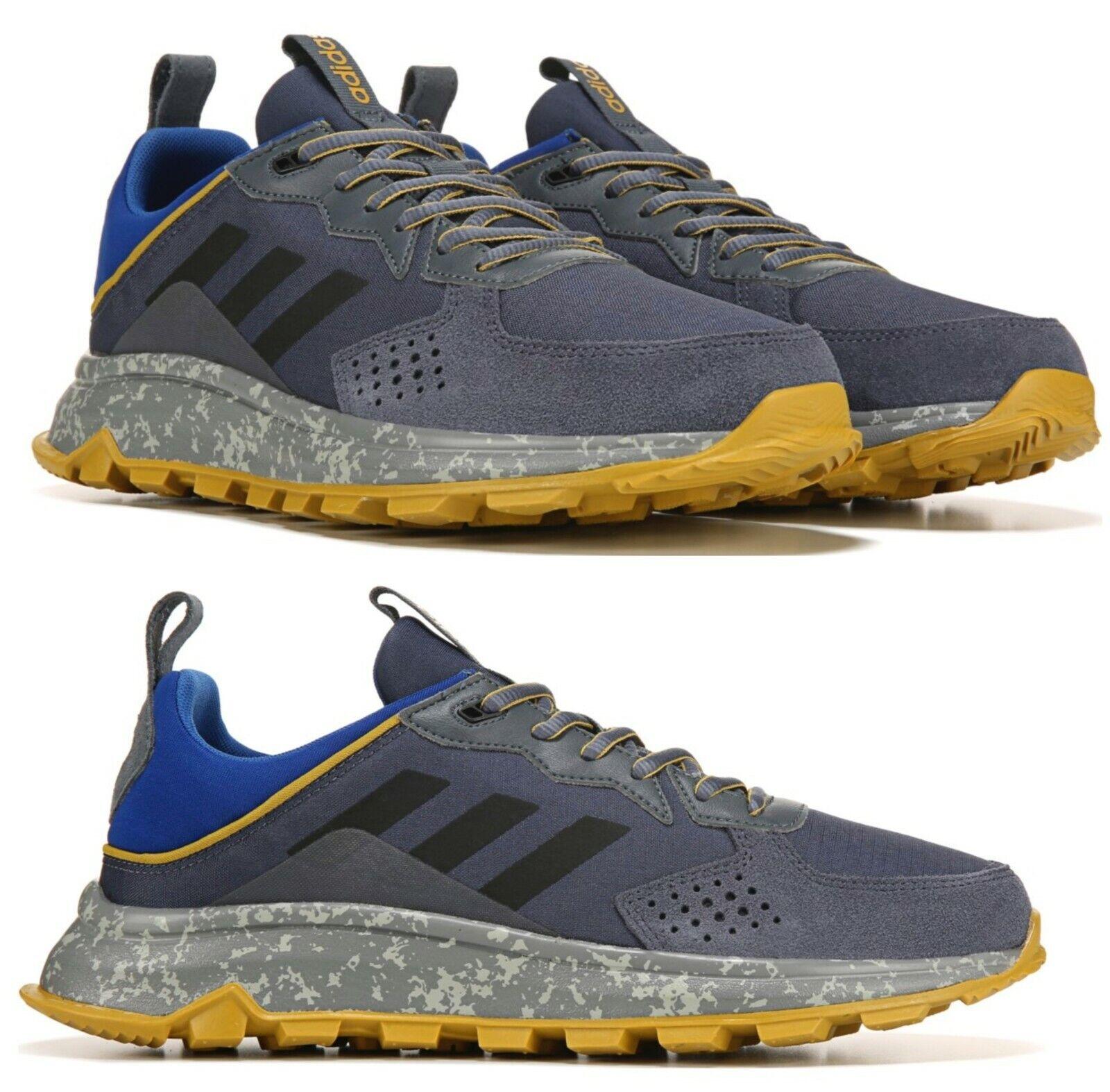 Neu Adidas Traillauf Athletic Turnschuhe Trail Herren Blau Grau Gold Alle Größen
