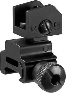 Barska-Black-Flip-up-Tactical-Rear-Sight-Picatinny-Weaver-Rail-AW11884