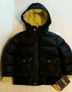 61fba7b79fb4 NWT Cherokee Size 18 Months All Weather Puffer Jacket Hooded Black ...