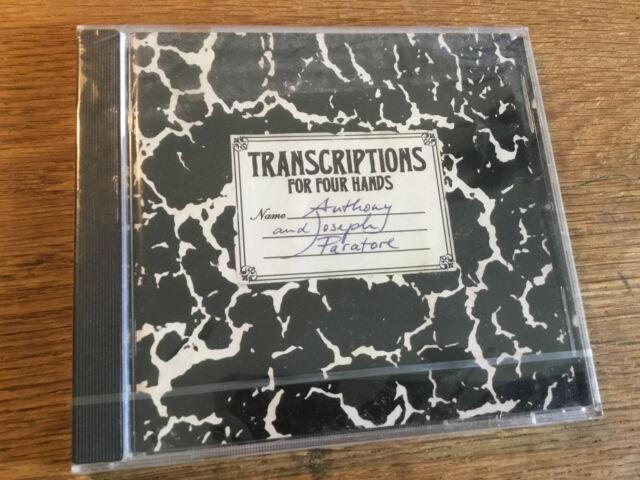 Liszt Schönberg - Transkriptionen Für Vier Hände [CD Album] NEU OVP Paratore