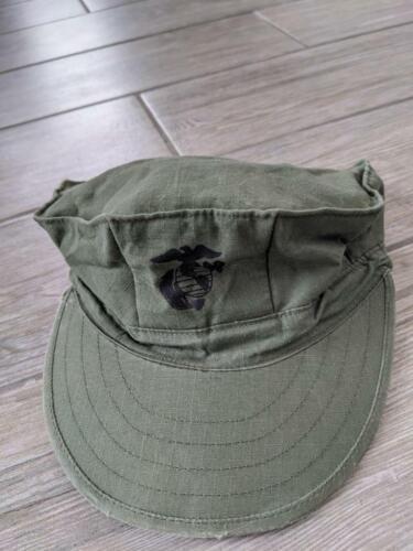 1960s vintage VIETNAM rip-stop USMC marine hat SMA