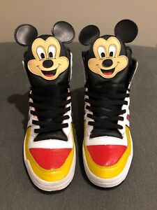 Details about ADIDAS ORIGINALS, Jeremy Scott Mickey Mouse, Size 10, EXTREMELY RARE!!!!