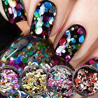 1 Box Nail Sequins Paillette Glitter DIY Beauty Nail Tip 3D Nail Art Decorations