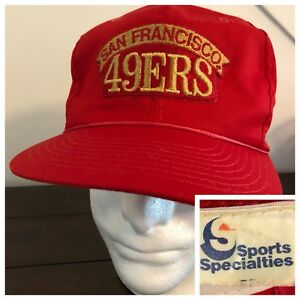 best authentic 99afd c3005 Image is loading Vintage-80s-NFL-Sports-Specialties-SAN-FRANCISCO-49ers-