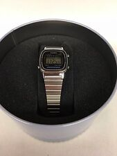 Casio G Shock LA670WD-1CR Watch - Silver/Black NEW in box