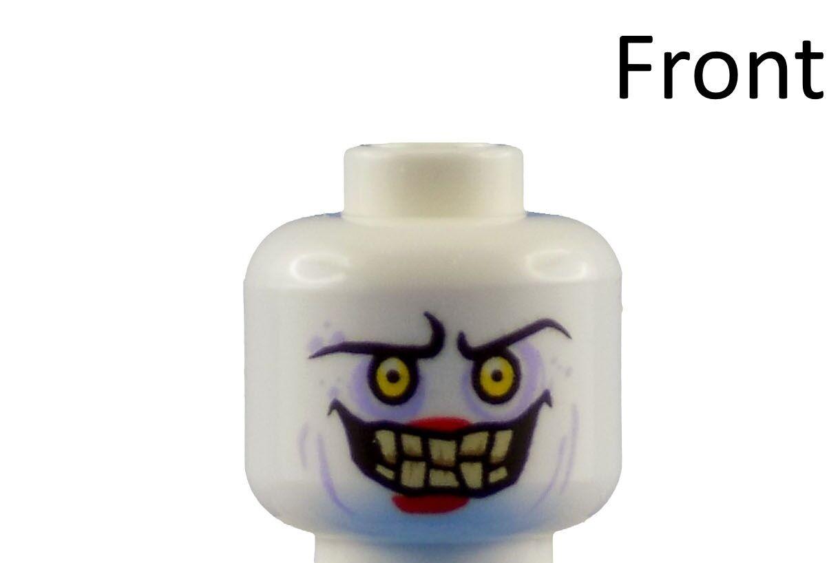 Lego weißer Kopf Jestro Nexo Knights Neu