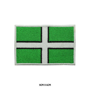 DEVON-County-Flag-Embroidered-Patch-Iron-on-Sew-On-Badge-For-Clothes