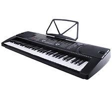 Lagrima Black Electric 61 Key Keyboard Music Piano Portable Electronic Digital