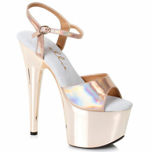 Ellie-709-BRIA-Gold-7-inch-Stiletto-W-Rose-Gold-Platform