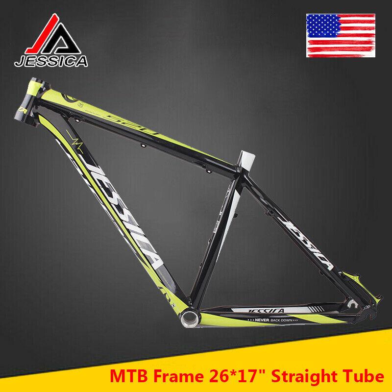 JESSICA MTB Bike Frameset 2617 Straight Tube BB68 Aluminum Ultralight Frame