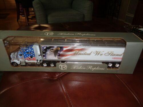 New Tonkin Replicas Patriotic USA Kenworth Tractor /& Trailer Big Rig 1:53 Scale