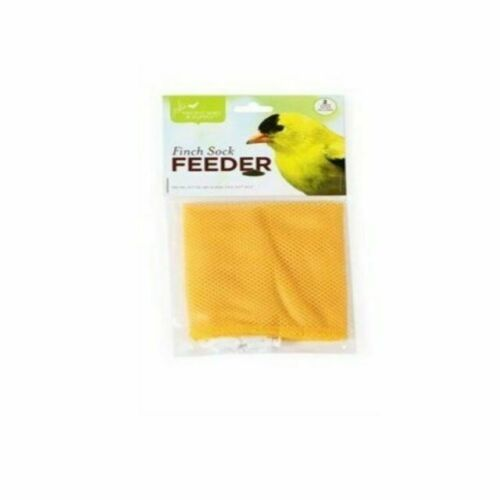 Capacity Yellow Nyjer Seed Finch Thistle 1.5 Lb Perky-Pet Classic  14-1//2 In