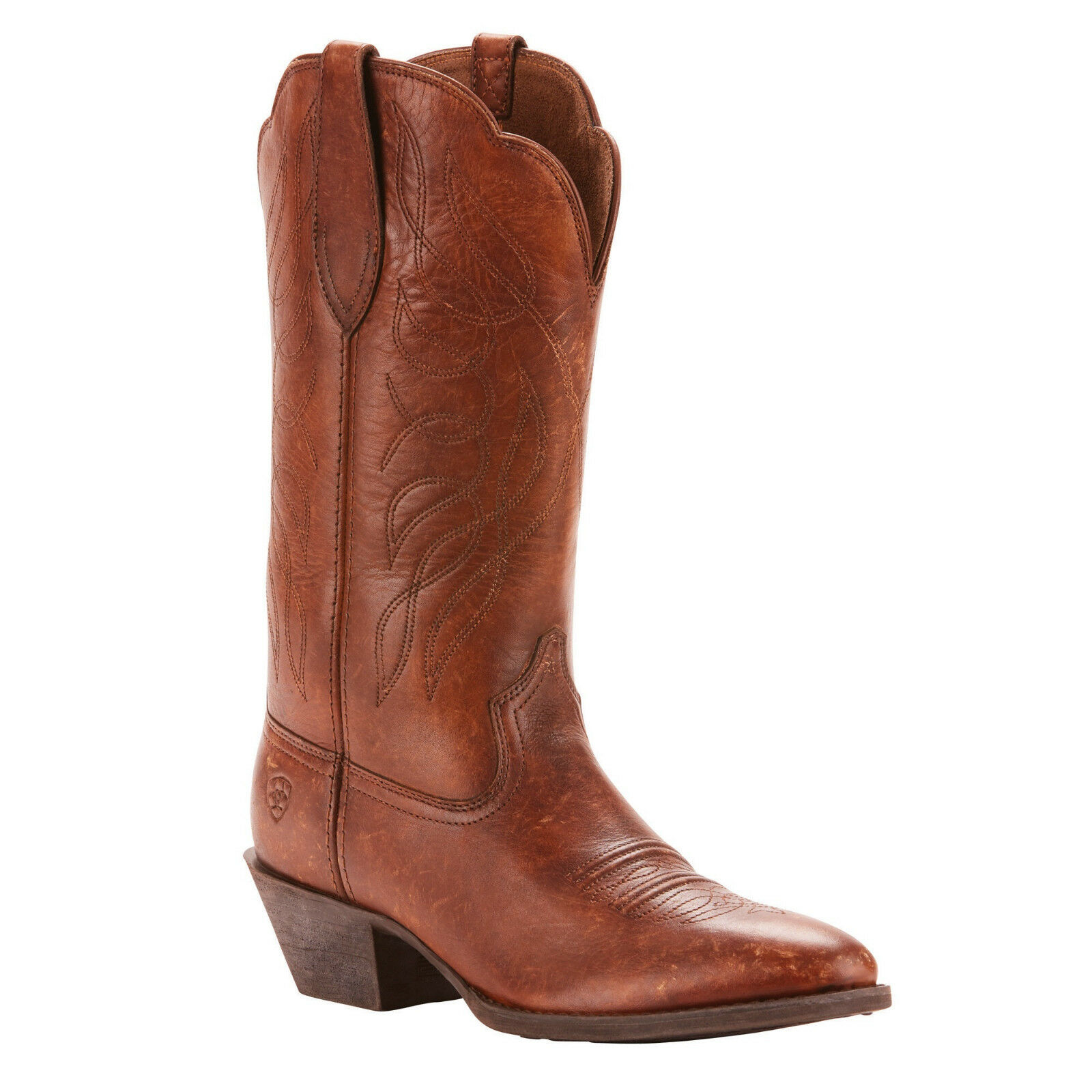 distribuzione globale Ariat® Ladies Heritage Western R R R Toe Distressed Marrone stivali 10025121  best-seller