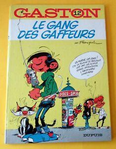 GASTON-LE-GANG-DES-GAFFEURS-FRANQUIN-EO-1974-DUPUIS-SUPERBE-TTBE