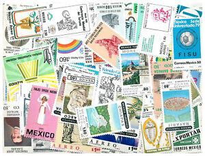 Mexique-250-differents-neuf-sans-charniere-timbres-46596-Cadeau-Gratuit
