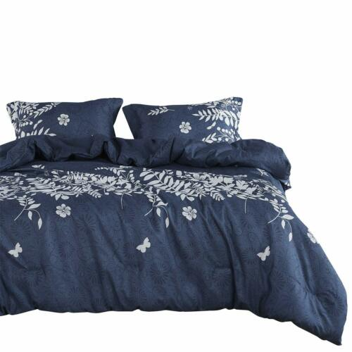Marble Comforter Set Gray Grey Black And White Pattern Printed, Wake In Cloud