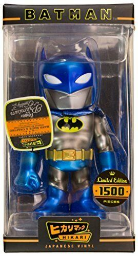 HIKARI DC METALLIC BATMAN SOFUBI FUNKO UK SELLER