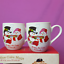 Fitz-and-Floyd-Snowmen-Christmas-Mugs-Tea-Coffee-Cake-Recipe-Flurry-Folk-12-oz thumbnail 1