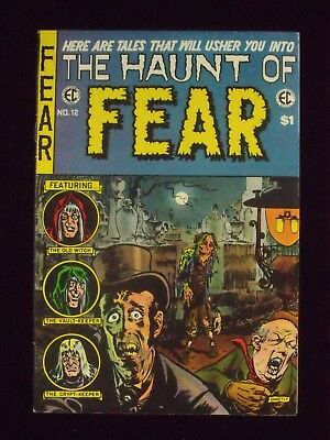1973 7.0 F/vf. No 4 12 Classic Reprint No Provided E Haunt Of Fear C