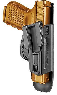 Covert G-9 Fab Defense Scorpus Inside Waistband Holster for Glock 26,27,31,32