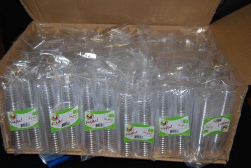 Lot 1920 Shot Glasses Hard Plastic 1Oz Mini Wine Glass Party Cups Free Shipping