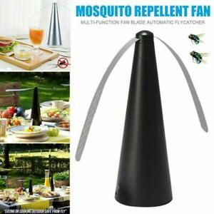 Insect Killer Fly Repellent Fan Keep Outdoor Meal Mosquito Food Safe Fly Trap UK