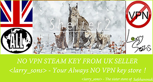 Shelter-2-Steam-key-NO-VPN-Region-Free-UK-Seller