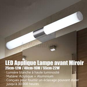 LED Applique Lampe Murale Lumière Salle de Bain Miroir Intérieur 25-55cm