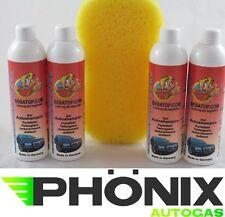 4x Autoshampoo Shampoo Auto Wäsche Reinigung 300ml mit Autoschwamm