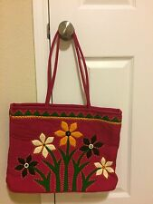 designer handbags- handcrafted including coin bags, mobile pouch and cross bag