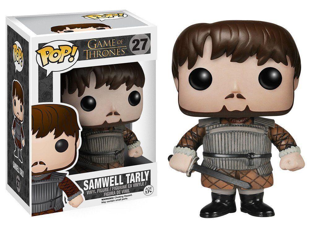 Pop  Juego of Thrones Series 4 Samwell Tarly Figura Funko