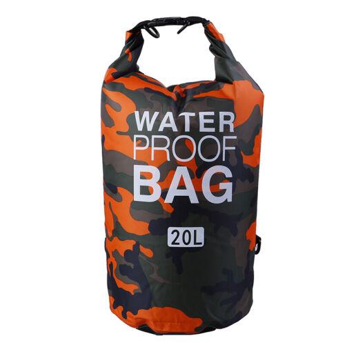 Waterproof Drift Dry Bag Kayaking Floating Boating Swim 2L//5L//10L//15L//20LJMD