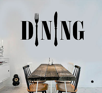 Vinyl Wall Decal Dining Room Kitchen