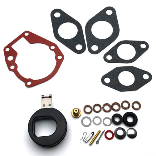 Carburetor Kit With Float For Johnson Evinrude 3 hp 1952-1968 5 hp 1965-1967
