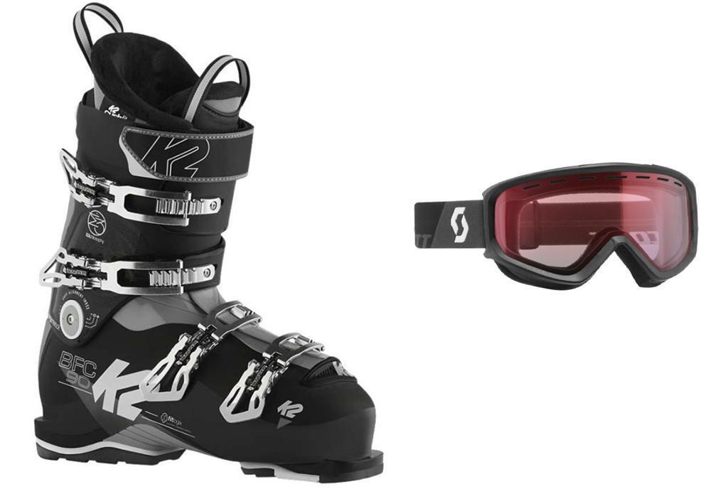 K2 BFC 90 ski Stiefel, Größe 30.5 (w- NEW MATCHING goggles at BuyItNow price) NEW (w- 2018 73c671