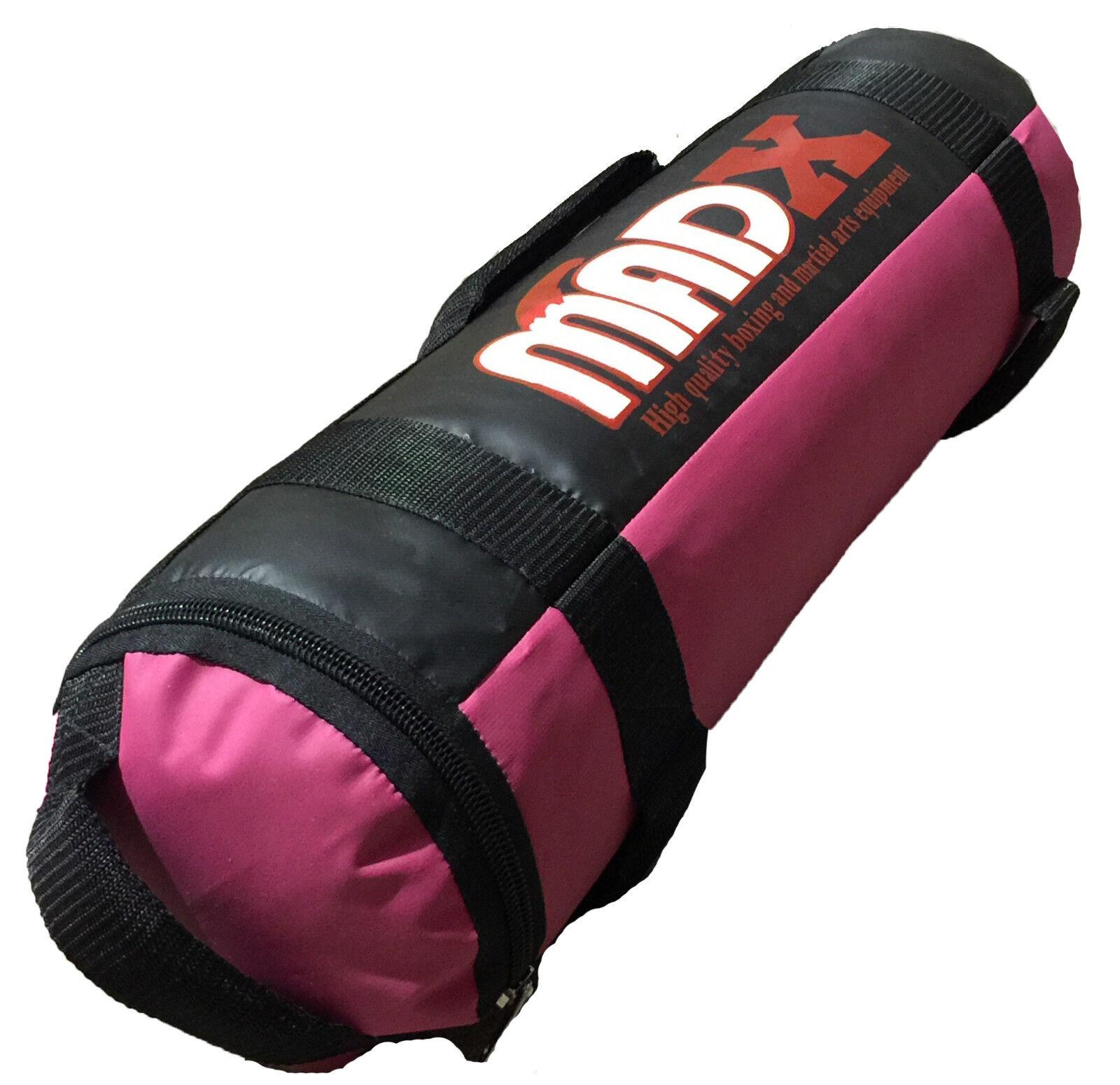 MADX 5kg forza-Tessuto/Sabbia Riempita Borsa CROSSFIT BOXE MMA Allenamento Fitness