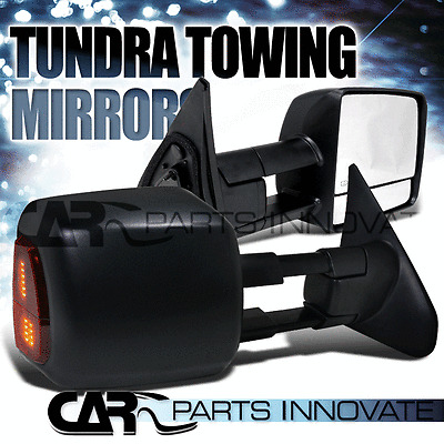 Toyota 07-13 Tundra Towing Side Mirrors Power Heated+LED Signal