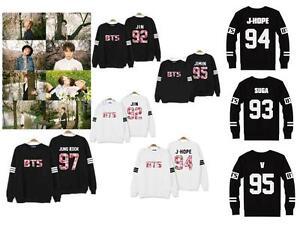 677c2fe4d2 BTS Bangtan Boys Jung Kook JHope JIN JIMIN V Suga Sweater KPOP ...