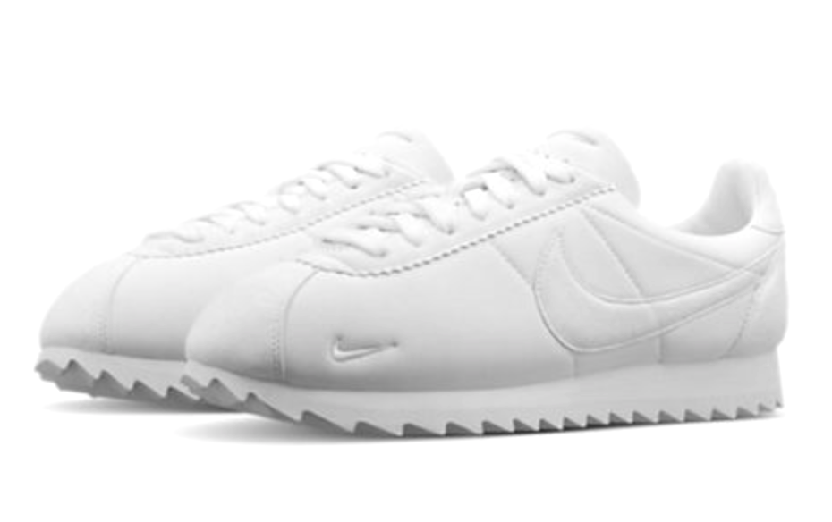 Nike Classic Cortez Shark Low Mens Size 10.5 shoes SP 810135 110 White Big Tooth