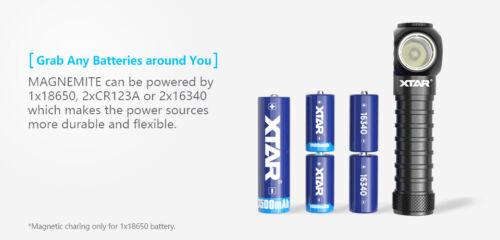 New XTAR H3R USB Chargeable Cree XP-L V6 1000 Lumens LED Headlight Flashlight
