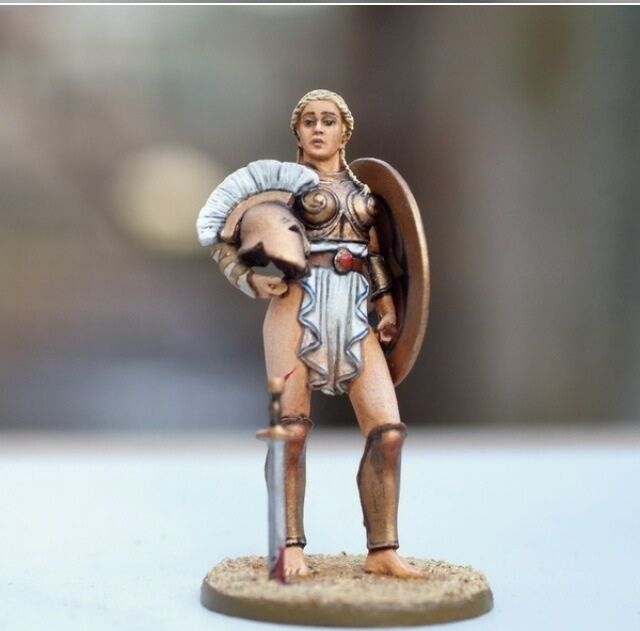 Toy lead soldier,Roman gladiator  Amazon ,rare,collectable,hand painted,gift
