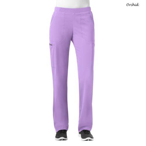 WonderWink Scrubs HP Women/'s Modern Straight Leg Pull on Pant/_5112/_Tall