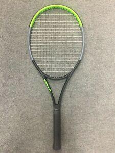 Wilson-Blade-104-v7-STRUNG-4-3-8-Tennis-Racquet-Racket-16x19-290g-10-2oz-serena