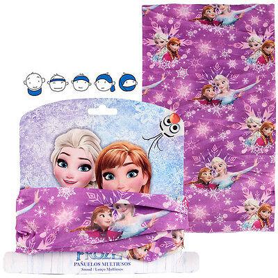 Dedito Frozen Frozen Ragazze Bambini Copricollo Multi Funzione Panno Skimask-tuch Skimask It-it