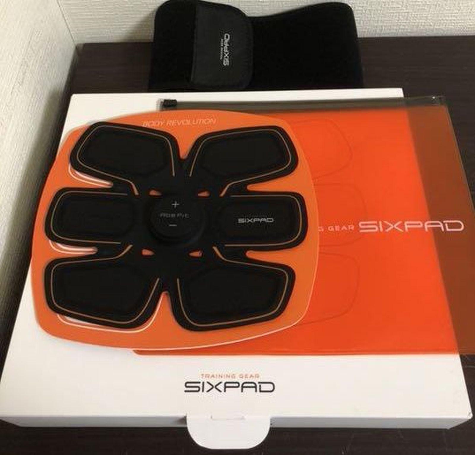 Mtg Sixpad ABS Fit Allenamento GeartrAm2015aE Nero FS da Japan Nuovo