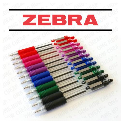 Zebra Z-Griff Z Griff Einziehbar Kugelschreiber Stifte 12er Pack = 2 Stück